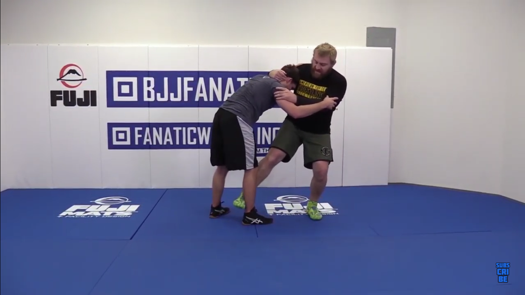 Straight Across Foot Sweep With Steve Mocco