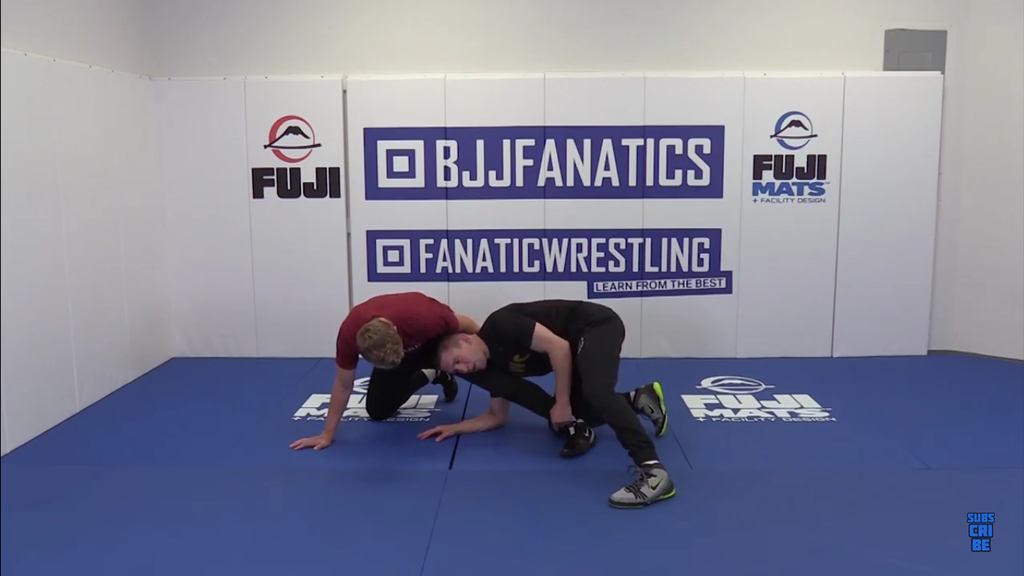 Finish The Back Side Single Leg With Matt McDonough