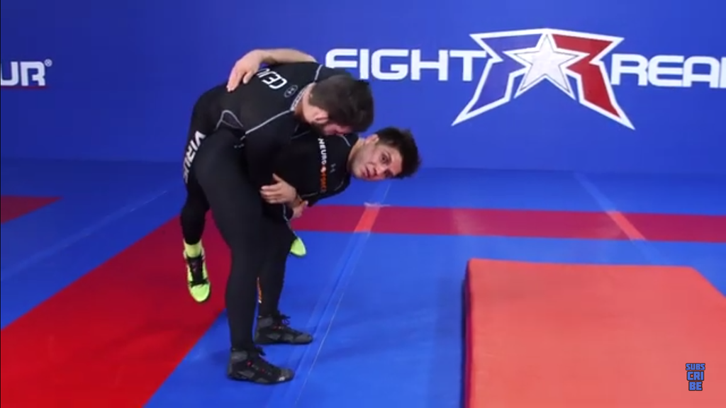 Hip Toss Set Ups With Henry Cejudo