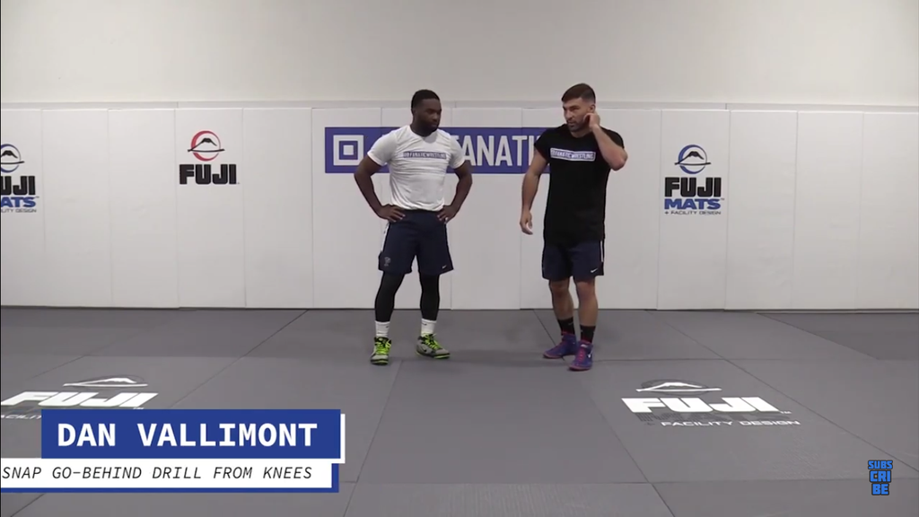 Master Snap and Go Behind Drills with Dan Vallimont