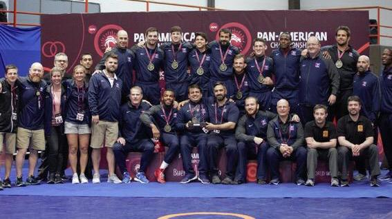 US Freestyle Team Goes Undefeated In All Weights at Pan Ams