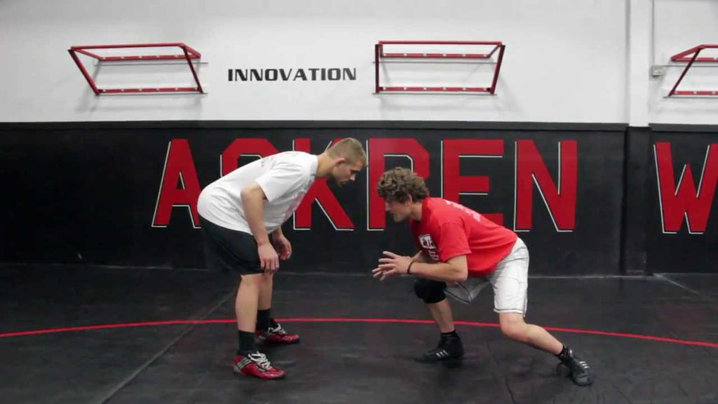 The Double Leg Set Up With Ben Askren