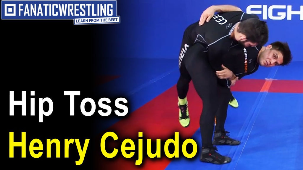 Hip Toss Takedown by Henry Cejudo