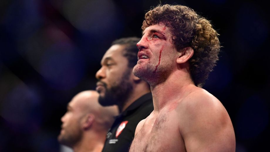 Askren Would Only Accept A Title Shot With Woodley's Blessing