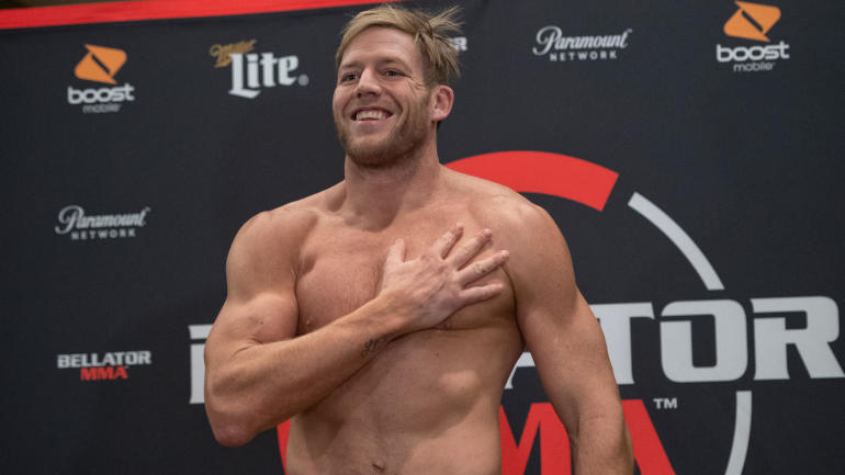 Former All-American Jack Hager, aka Jack Swagger, Wins Bellator Fight