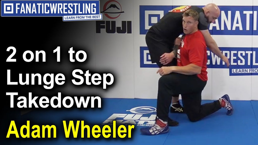 Folkstyle Fundamentals:  Two on One Lunge Step Set Ups with Adam Wheeler