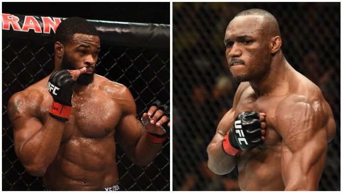 Wrestling Standouts Usman And Woodley Face Off For UFC Gold This Saturday