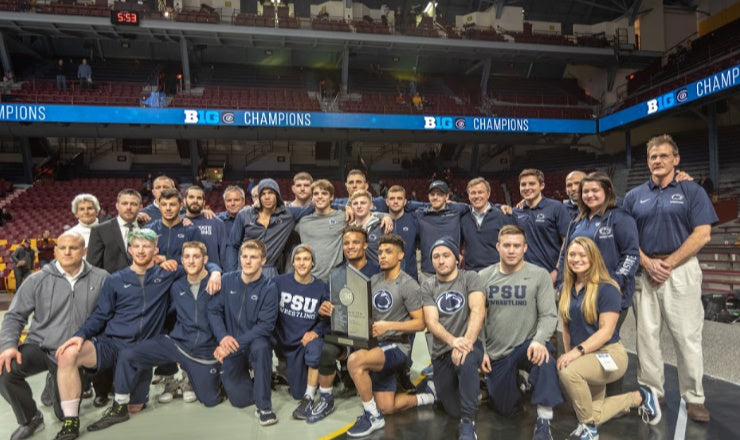 Penn State Roars To Big Ten Team Championship, Led By 4 Individual Champions