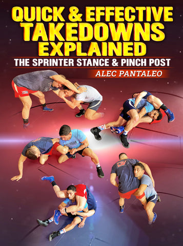 Quick & Effective Takedowns Explained by Alec Pantaleo