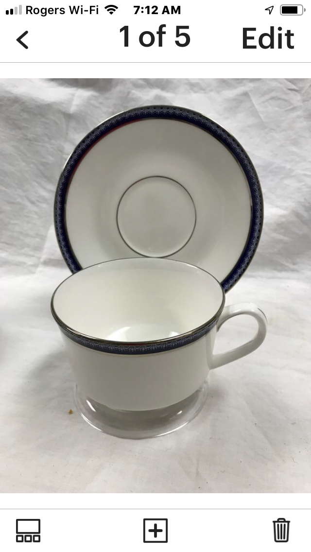 Firenze, Avalon,  by Royal Worcester, England