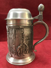 Load image into Gallery viewer, Barware, Germany, Zinn Becker, Pewter Tankard/Stein  with Lid