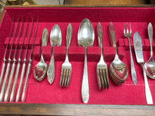 Load image into Gallery viewer, Community Plate- Adam-  Flatware- SilverPlate,  6- 5 piece place settings  (plus 7pc ).