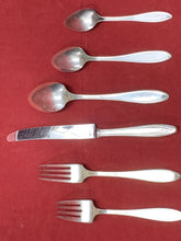 Load image into Gallery viewer, Flatware, Rogers Bros.- Silhouette-  Service for 8    (56 pcs) plus 8 utensils