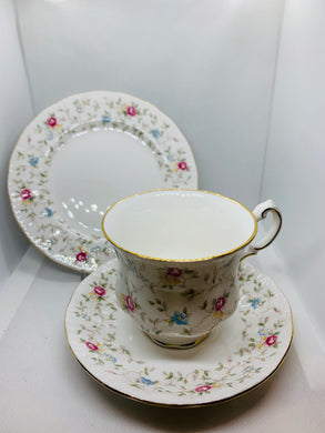 "Paragon, England.  ""First Choice"".  Cup and Saucer with Dessert Plate"