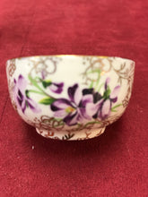 Load image into Gallery viewer, Cream and Sugar, James Kent Ltd, Gold Chintz/Violets
