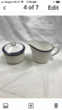 Load image into Gallery viewer, Firenze, Avalon, by Royal Worcester, England.  Creamer and covered Sugar Bowl