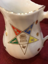 Load image into Gallery viewer, Creamer, Elizabethan, Order of the Eastern Star