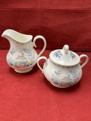 Royal Albert, New Romance- Songbird,  Cream and Sugar
