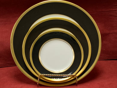 Athlone-Brown & Gold.  Place settings for 8  (48 pcs)