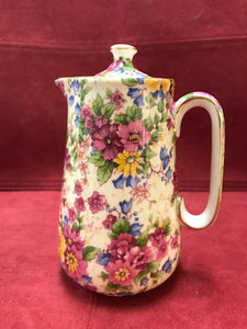 Royal Winton, Grimwades, Floral Chintz.  Coffee Pot/Tea Pot