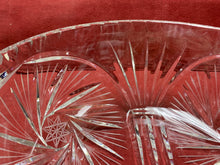 Load image into Gallery viewer, Serving Bowl, Crystal, Pinwheel.