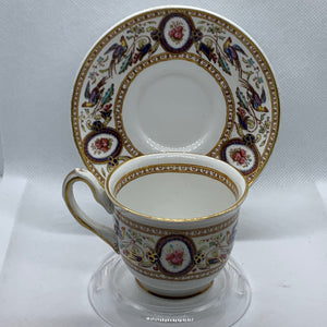 Ridgways. England. Demitasse Cup and Saucer.  Chelsea