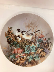 "Collector Plate- Lena Liu- .  Nature's Poetry Series- #5. ""Gentle Refrain"""