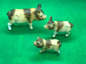 Japan, Pigs-Set of 3