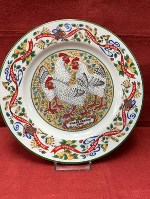 Royal Worcester , The 12 days of Christmas. Plate #3