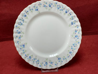 Royal Albert, Memory Lane, Luncheon/Salad Plates,   Forget-Me-Nots
