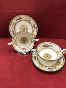 Wedgwood, Columbia, Soup Bowl with Under Plates