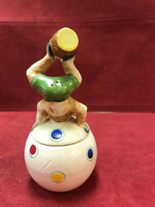 Salt and Pepper, Circus Monkey, Shafford Pottery, Japan