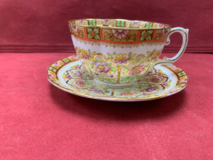 Royal Albert-Court Crown China, made in England- Cup and Saucer