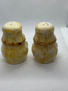 Salt and Pepper Shakers. Unmarked- likely Japan.  Ducks/flowers