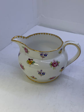 Royal Stafford. England. Creamer.  Rose Pansy/Forge Me Not