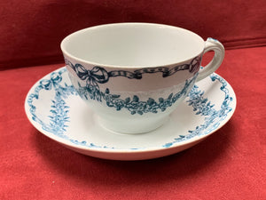 Losol Ware, England. 6 Cups and Saucers. Selkirk.