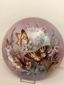 Collector Plate- Lena Liu- On Gossamer Wings-  # 5.  Butterflies