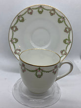 Load image into Gallery viewer, Limoges-France.  Bridal Wreath. Demitasse Cup and Saucer
