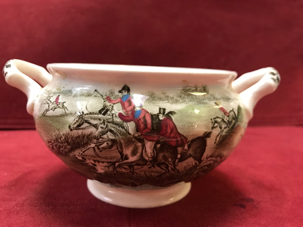 Johnson Brothers, Tally Ho, Open Sugar Bowl,