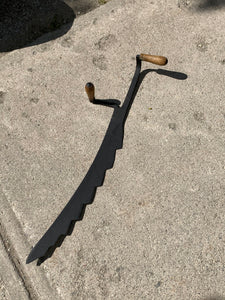 Tools. Hay Saw/Knife. Two handled tool for cutting Hay. Antique. IN STORE PICK UP ONLY