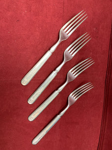 Flatware- Dinner Forks.   Rogers. Silver Plate.  Old Colony (4 Forks)