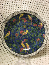 Load image into Gallery viewer, Royal Doulton, Persian Parrots, Plates D4031, Antique- luncheon/sandwich plate.   HOLD  for