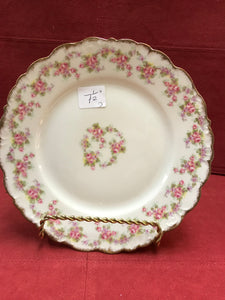 "Limoges, Elite Works.  ""Bridal Wreath"".    Side Plates/Dessert Plates"