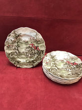 "Load image into Gallery viewer, Johnson Brothers, Tally Ho, Bread and Butter Plate, ""View Halloo"""