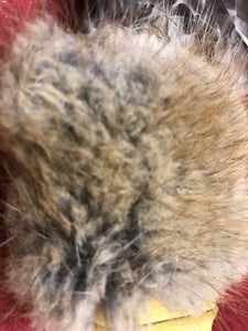 Talking Feather, Indigenous, Feathers, Wood, Rabbit Fur, Hide