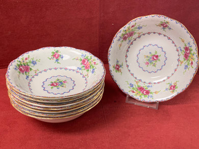 Royal Albert, Petit Point, Fruit Nappies