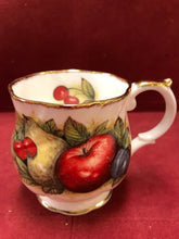 Load image into Gallery viewer, Mug, Queen's Fine China, Antique Fruit , Bone China (set of 2)