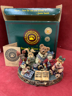 Boyds Bears and Friends. The Bearstone Collection. 1999-Jan. Limited Edition