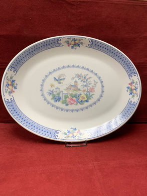 Royal Albert, New Romance- Songbird,  Oval Serving Platter