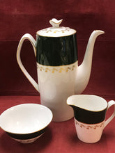 Load image into Gallery viewer, Spode, England. Coffee Service, Green Velvet, Pattern Y7869.